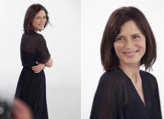 Aitana Sánchez-Gijón, un rostro de anuncio