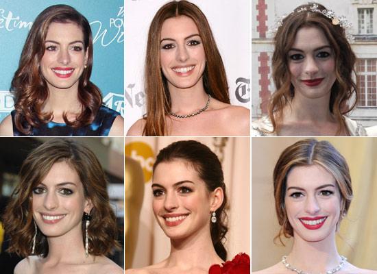 Anne Hathaway, mejor con el pelo largo según nuestros internautas