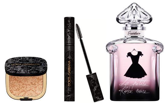 Encaje, 'little black dress'... la cosmética se viste de moda