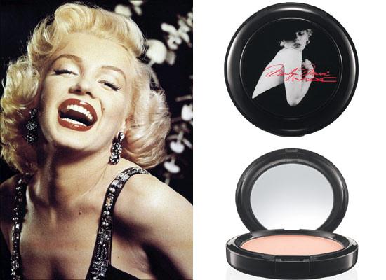 Marilyn Monroe inspira una colección de maquillaje