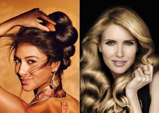 Nicole Scherzinger y Judit Mascó, dos melenas de anuncio