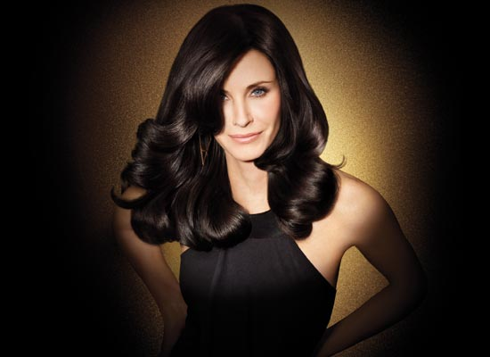 Courteney Cox, una melena seductora