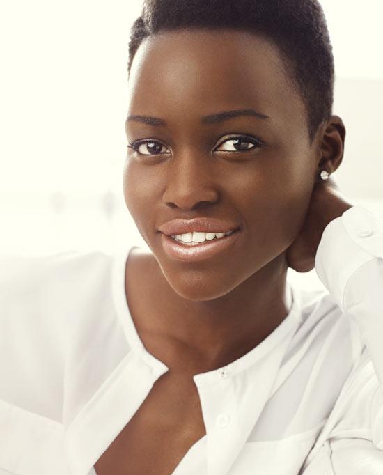 Lupita Nyong'o, el nuevo rostro de moda en cosmética