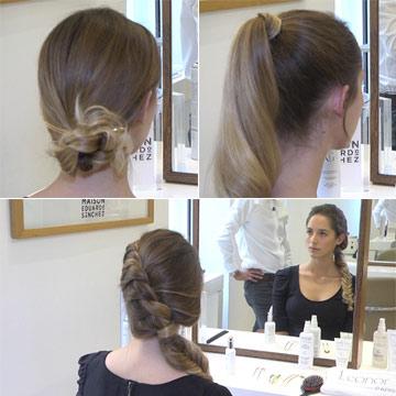 En vídeo: tres peinados fáciles para tu día a día