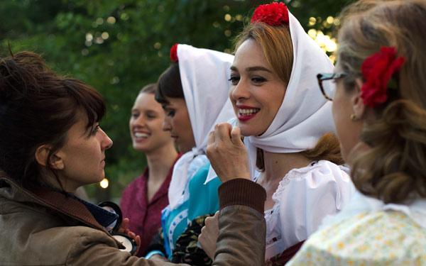 Entre bambalinas: Así maquillan a las actrices de 'Velvet'