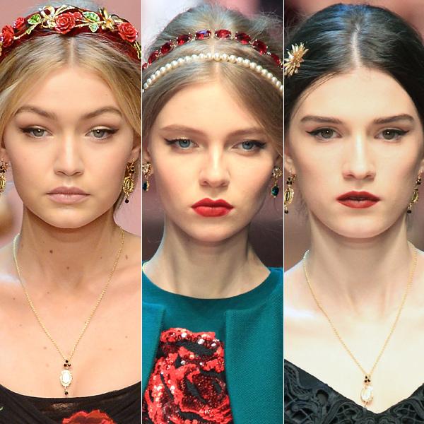 Nos colamos en el 'backstage' del desfile de Dolce & Gabbana