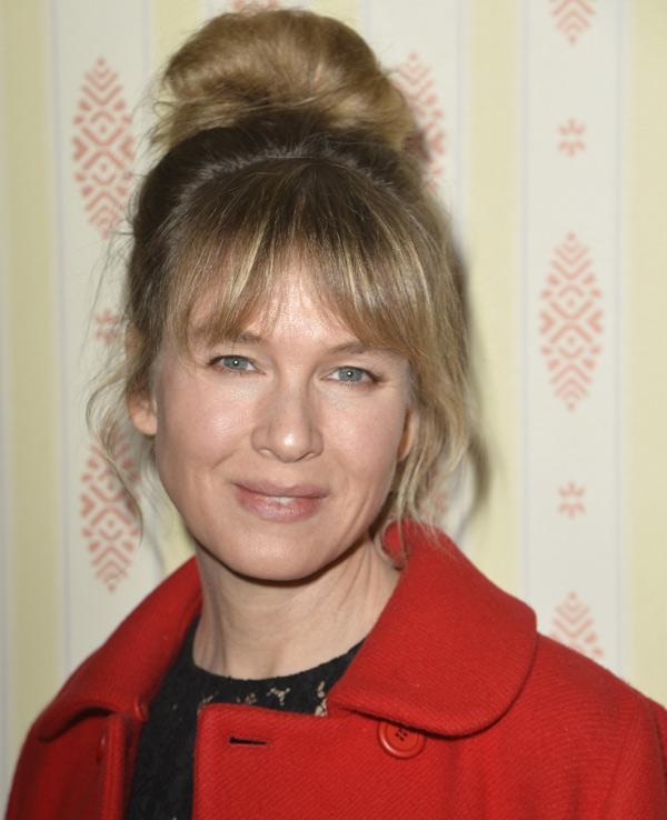 Renée Zellweger, de nuevo el centro de todas las miradas