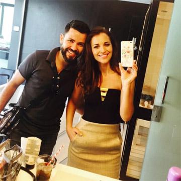 Entrevistamos a Miguel Álvarez, maquillador de Paula Echevarría... ¿Quieres descubrir los secretos de su 'beauty look'?