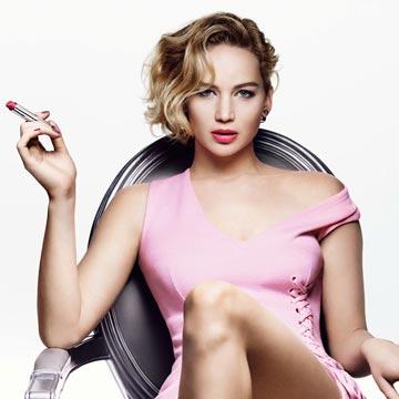 Dior 'adore' Jennifer Lawrence… ¿y qué labial adora la actriz?