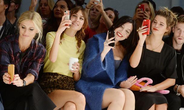 Guapa en las 'fashion week'
