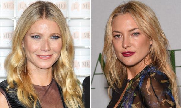 Kate Hudson y Gwyneth Paltrow: ¡larga vida a la melena rubia!