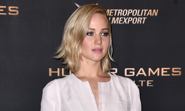 Jennifer Lawrence, mejor con el pelo suelto