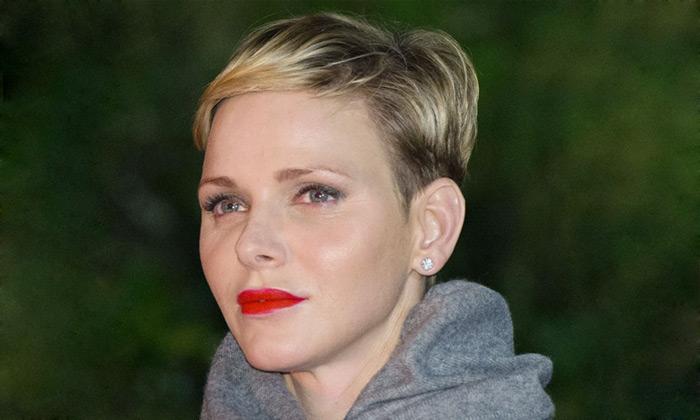 El 'rouge' de labios de Charlene de Mónaco