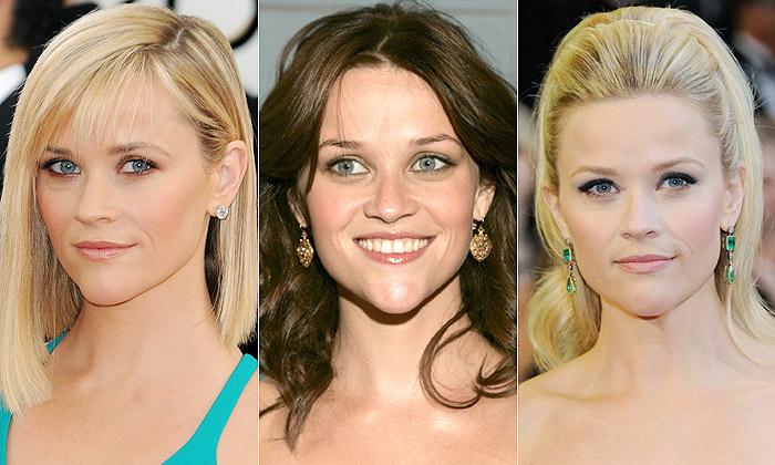 Reese Witherspoon, la rubia de Hollywood, en 40 'beauty looks'