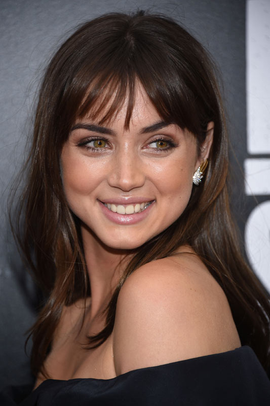 Ana de Armas at the 2019 Toronto premiere of Knives Out