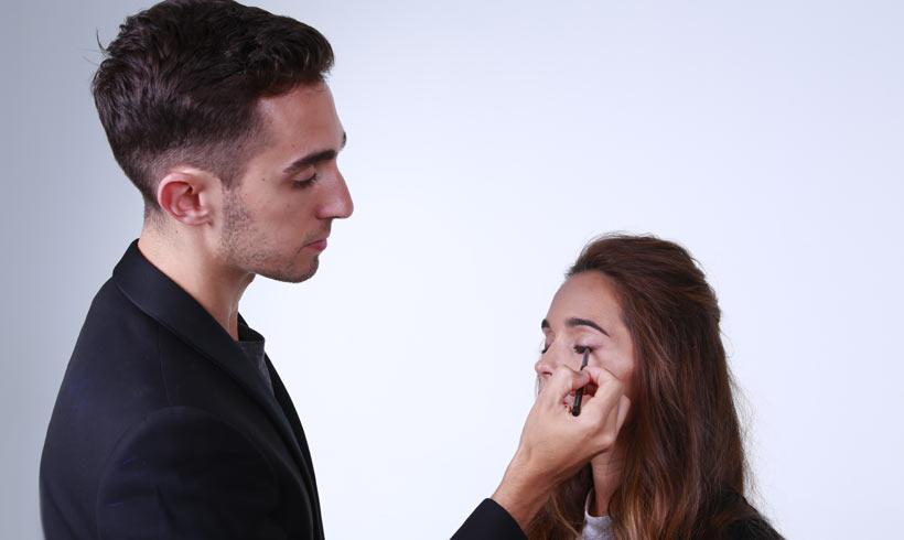 Damian Garozzo: 'Este otoño se lleva mucho el color, tanto en los labios como en los ojos'