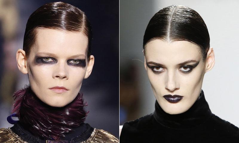 Maquillaje Para La Noche De Halloween Todo Al Negro Foto - Maquillaje-negro