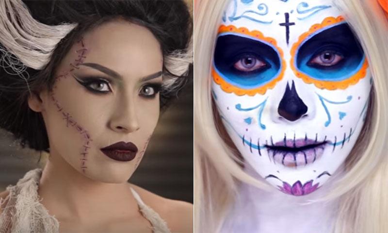 Halloween: 5 maquillajes 'top' para una noche de miedo