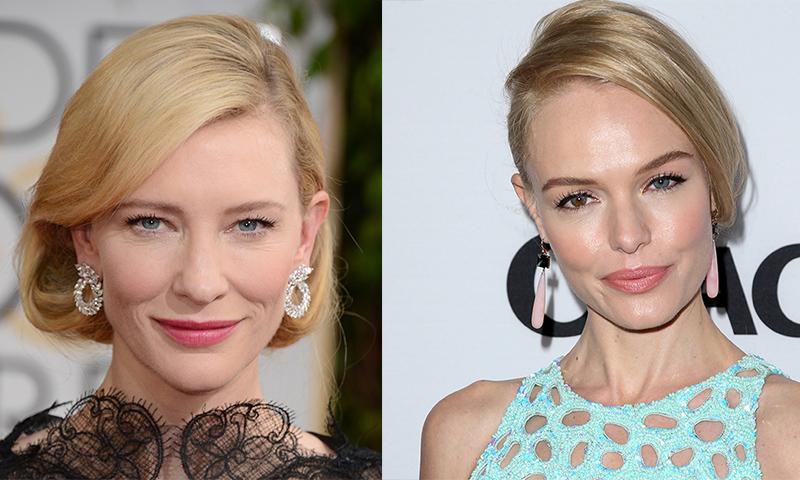 ¿Tú también has caído en las redes de los peinados 'trampantojo' como Cate Blanchett o Kate Bosworth?
