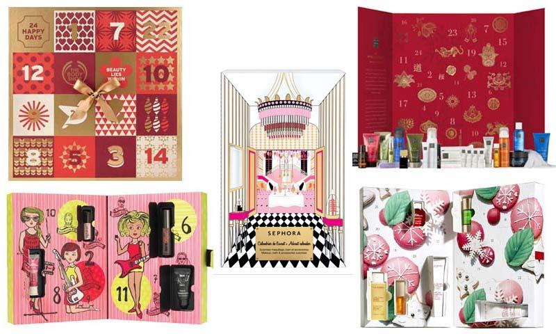 Calendarios de Adviento 'beauty': comienza la cuenta atrás para la Navidad