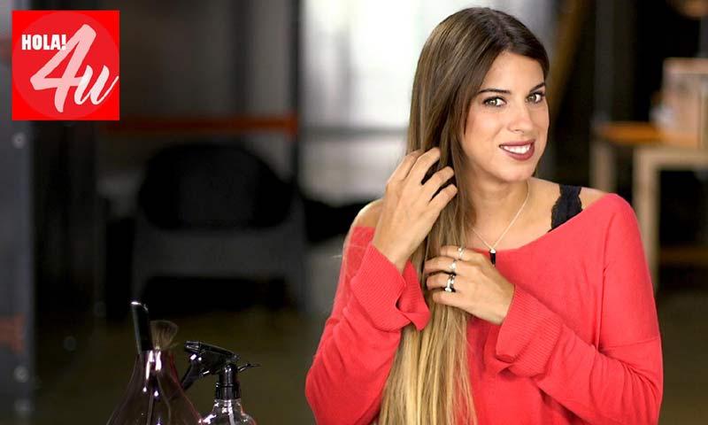 Marta Riumbau te cuenta cómo alisar tu pelo sin calor en HOLA!4u