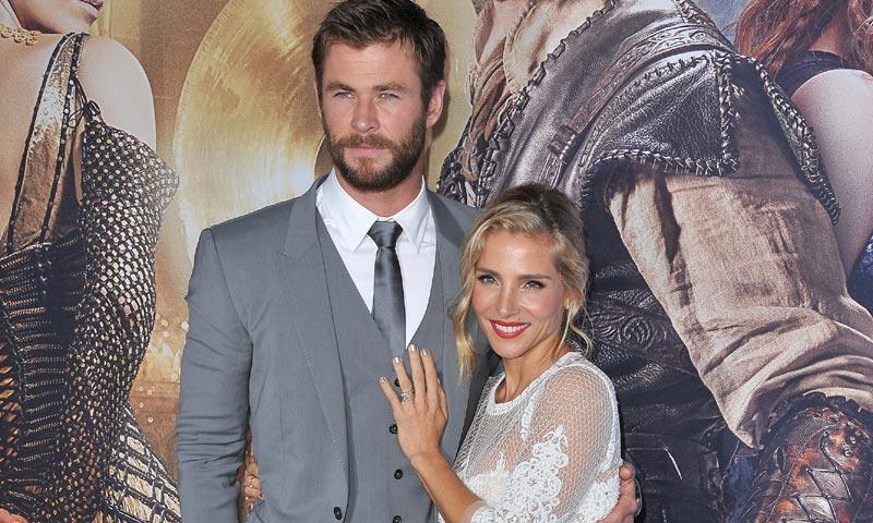 La romántica escena de Elsa Pataky y Chris Hemsworth en la película que ruedan juntos
