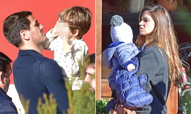 Siguiente parada en las vacaciones de Iker y Sara: ¿Dónde han celebrado las fiestas con sus hijos?