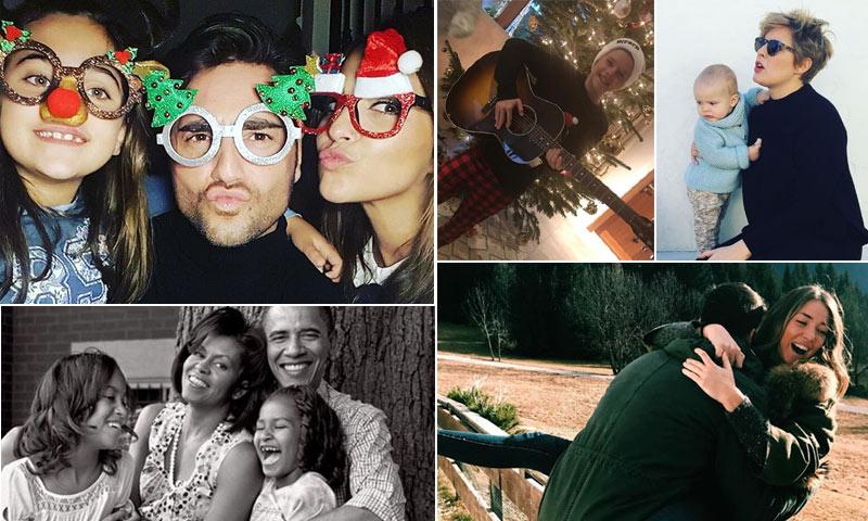 Foto a foto: De Paula Echevarría a los Beckham, así han celebrado la Navidad las 'celebrities'