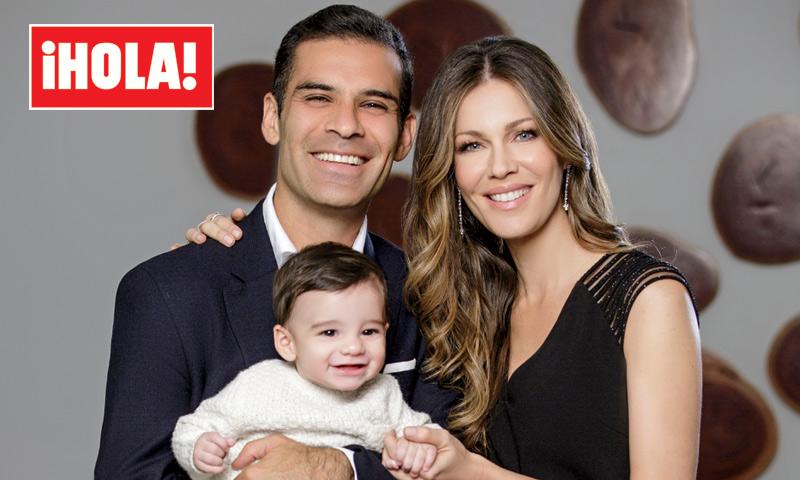 En ¡HOLA!: Jaydy Michel y Rafa Márquez nos presentan a su hijo, Leonardo