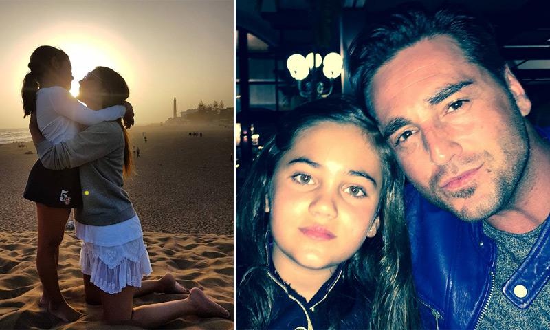 Paula Echevarría y David Bustamante, orgullosos de su hija, ¿cuáles son sus propósitos para este año?