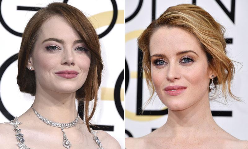 Los Globo de Oro en clave 'beauty': melenas recogidas + labios rosas, el tándem ganador
