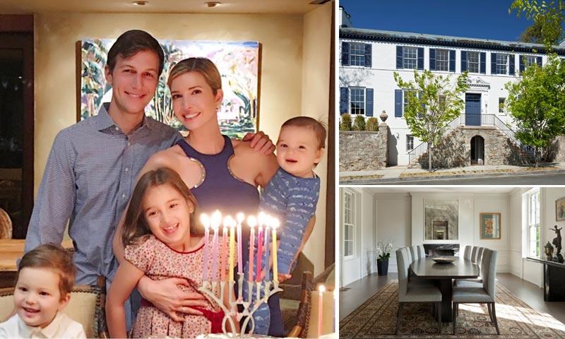 Ivanka Trump será vecina de los Obama en Washington, ¿quieres ver cómo es su impresionante casa?