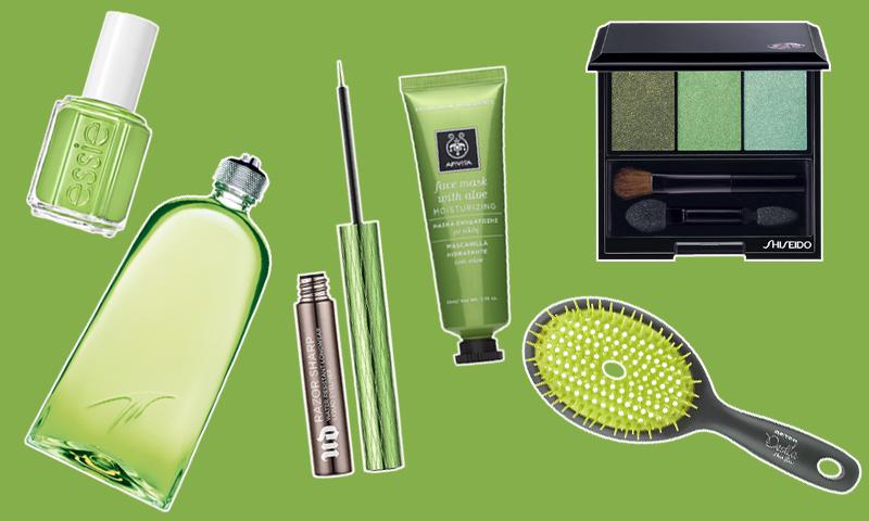 'Greenery', el color que este año inundará tu neceser 'beauty'