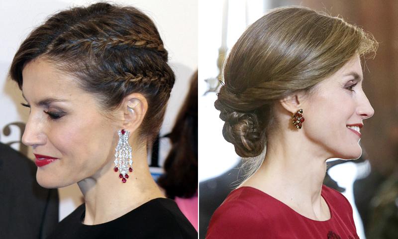 FOTOGALERÍA: Los 'beauty looks' de la reina Letizia