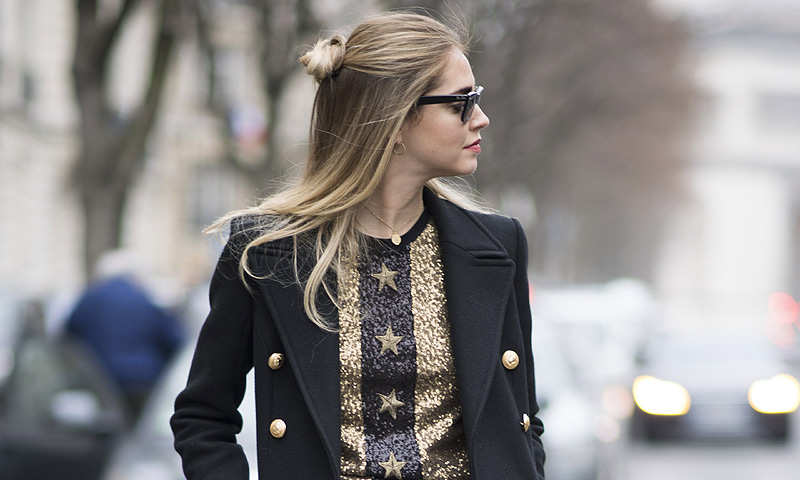 7 días, 7 'beauty looks'... por Chiara Ferragni