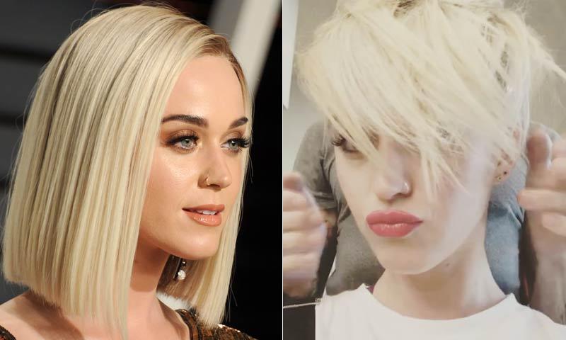 Katy Perry se apunta al corte 'pixie'