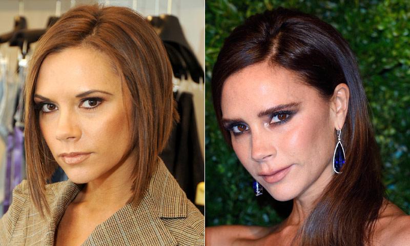 La sorprendente evolución de Victoria Beckham a través de sus cambios de 'look'