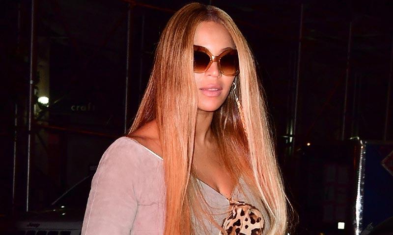 Rubia, larga y extralisa, así es la melena que comparten Beyoncé y Kim Kardashian