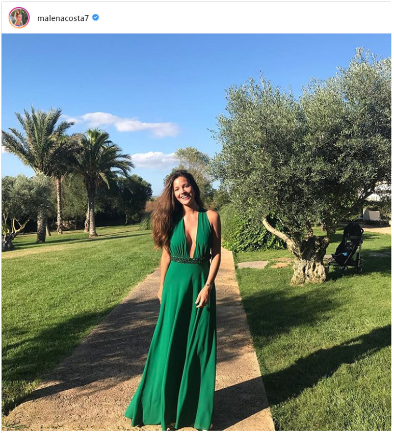Peinados para vestido largo verde