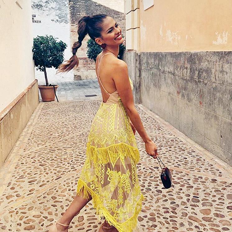 4c573ea40 Sara Sálamo vs Malena Costa  peinados fáciles de invitada según el ...