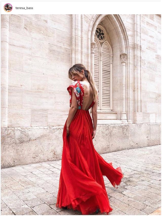 Peinados para vestidos largos y escotados