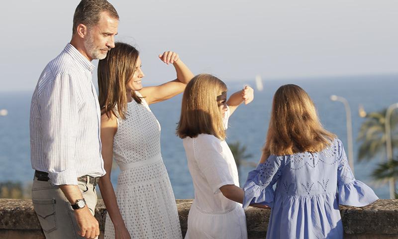 Los brazos tonificados de la reina Letizia: las 3 claves para conseguirlos