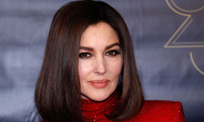 Monica Bellucci, irreconocible de rubia por exigencias del guion