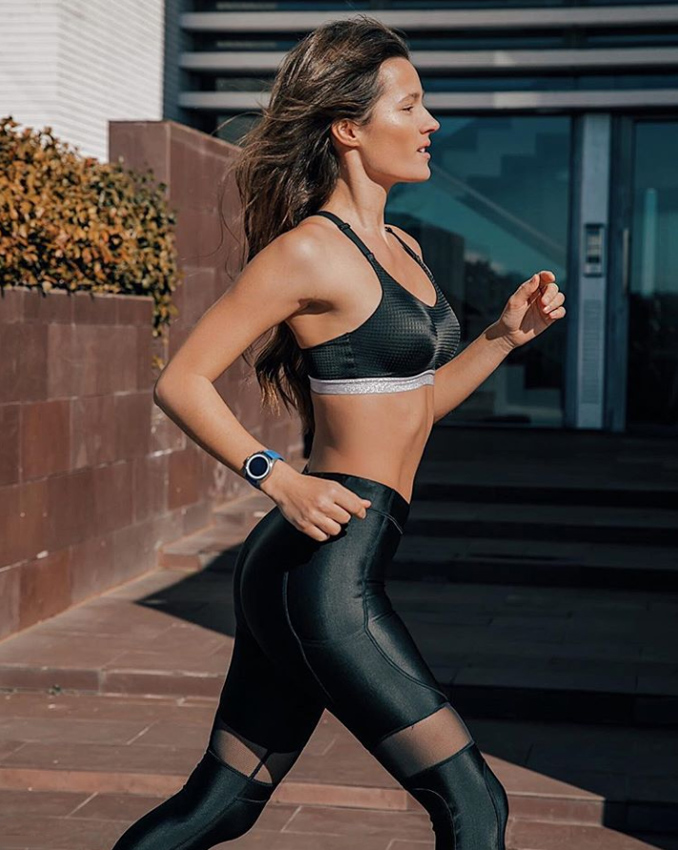 Malena Costa y el ejercicio con el quemarás calorías mucho más rápido