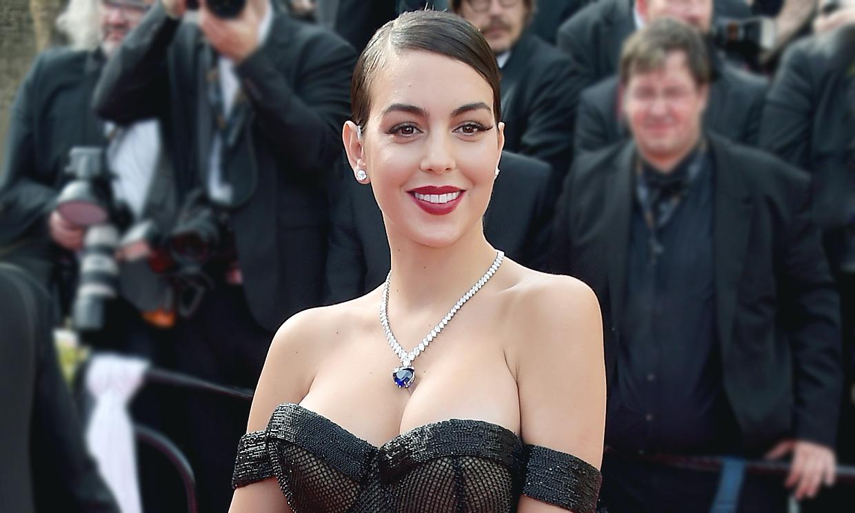 Descubrimos el secreto del peinado de Georgina Rodríguez en Cannes
