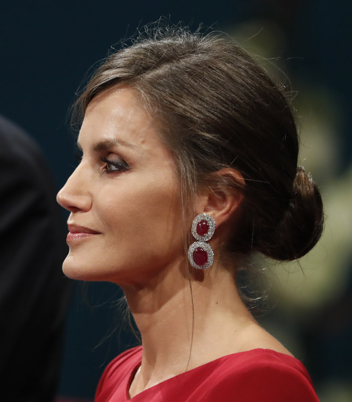 Letizia beauty look