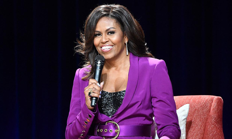 El mensaje de Michelle Obama tras su imagen con pelo rizado