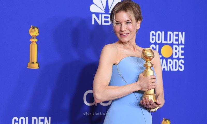 Renée Zellweger y su momentazo 'Queen Letizia': así impactó la actriz en los Globos de Oro