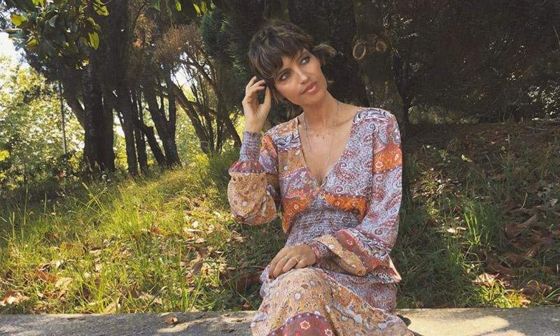 Sara Carbonero estrena flequillo en un misterioso proyecto