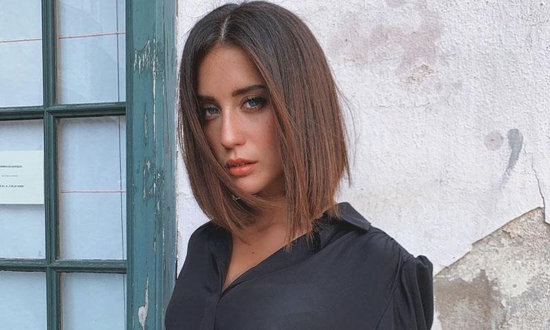 ¿Se inspiró María Pedraza en Rachel de 'Friends' para este look?